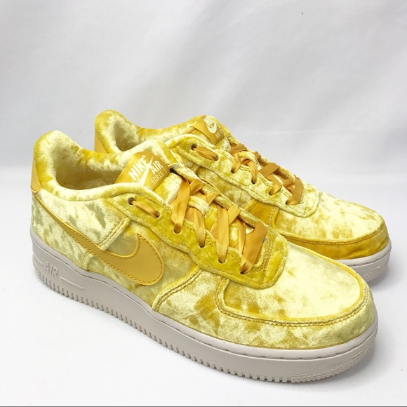 Nike Shoes | Nike Air Force Yellow